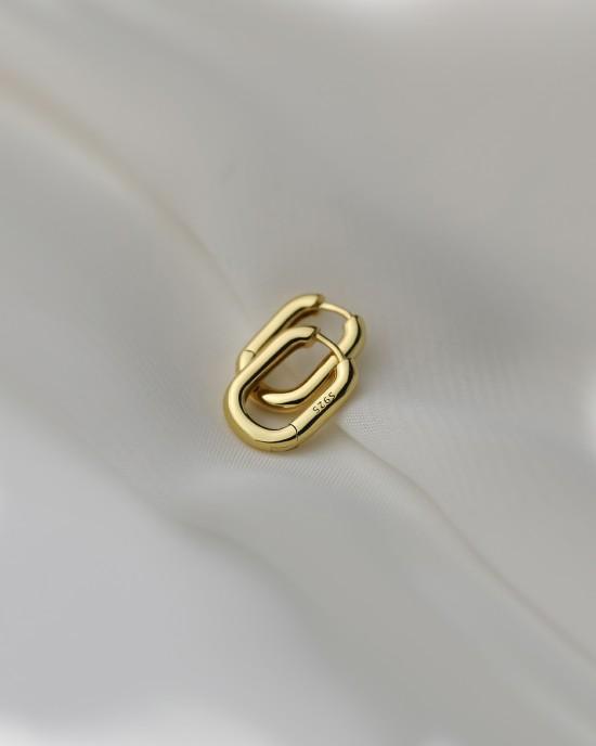 IVY Gold Vermeil Huggies