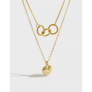 AIKO Gold Vermeil Necklace