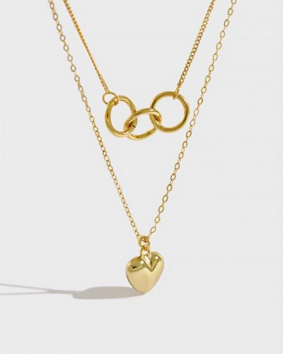AIKO Gold Vermeil Necklace