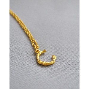 ALPHABET Necklace | Letter C