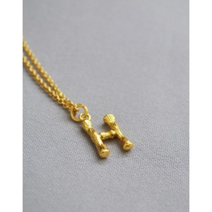 ALPHABET Necklace | Letter H