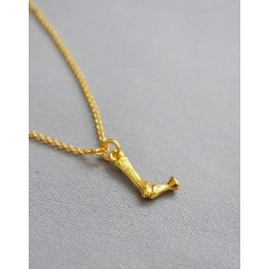 ALPHABET Necklace   Letter L