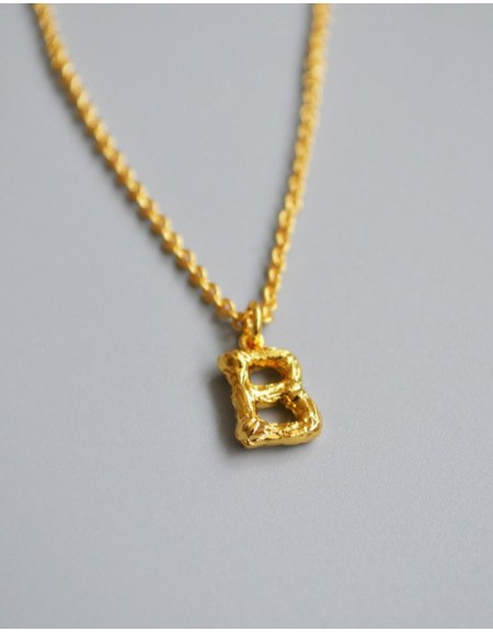 ALPHABET Necklace | Letter B