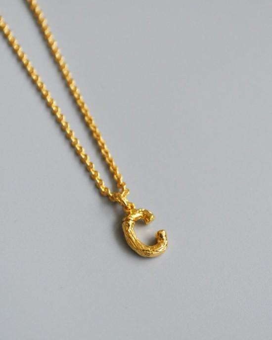 ALPHABET Necklace | Letter C