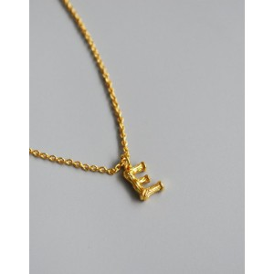 ALPHABET Necklace | Letter E