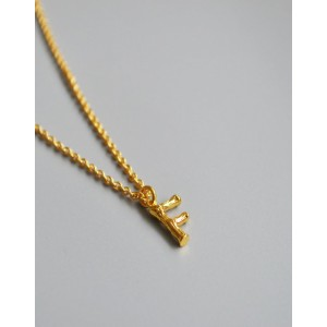 ALPHABET Necklace | Letter F