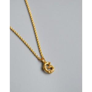 ALPHABET Necklace   Letter G