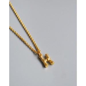 ALPHABET Necklace   Letter H