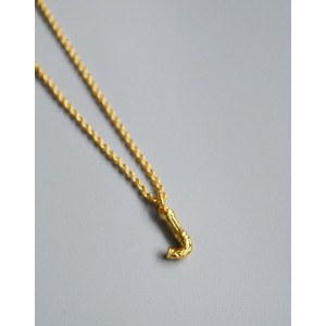 ALPHABET Necklace | Letter J