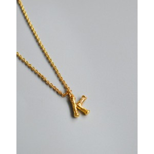 ALPHABET Necklace | Letter K