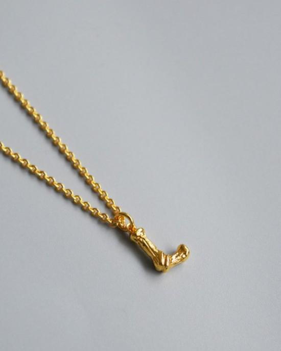 ALPHABET Necklace | Letter L