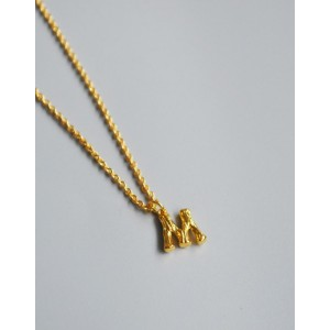 ALPHABET Necklace | Letter M