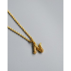 ALPHABET Necklace | Letter N