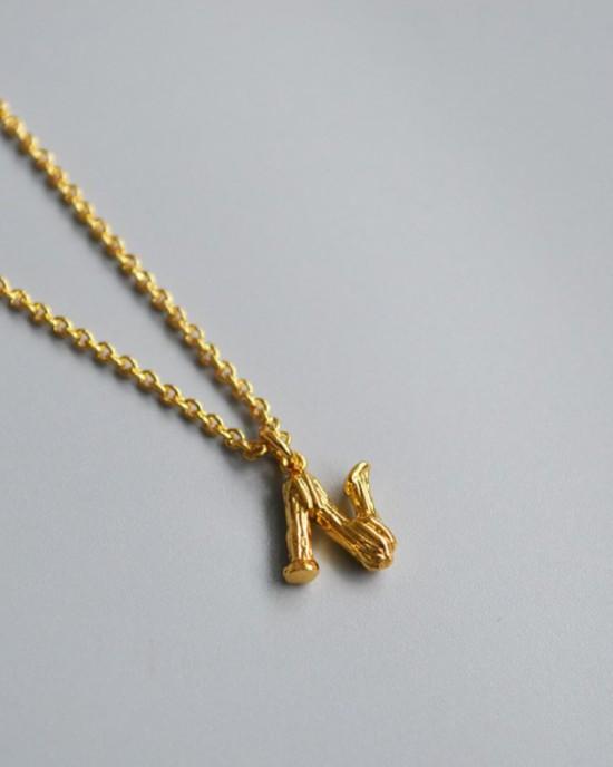 ALPHABET Necklace | Letter N