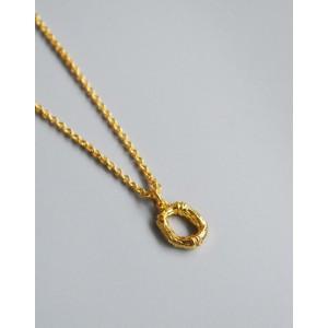 ALPHABET Necklace   Letter O