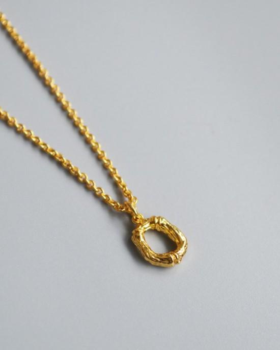 ALPHABET Necklace | Letter O