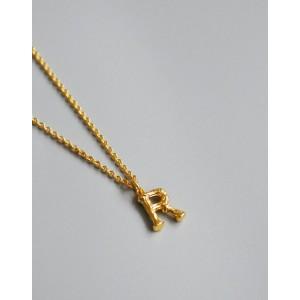 ALPHABET Necklace | Letter R