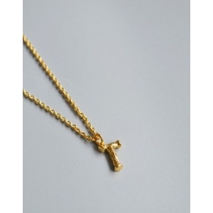 ALPHABET Necklace | Letter T