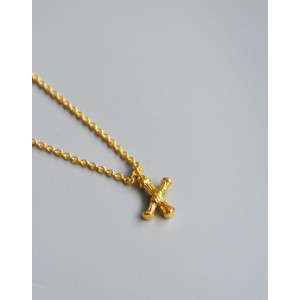 ALPHABET Necklace | Letter X