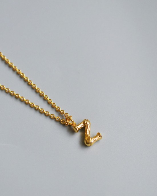 ALPHABET Necklace | Letter Z