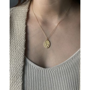 BAPTISM Gold  Vermeil Necklace