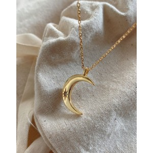 CLAIR DE LUNE Gold Vermeil Necklace