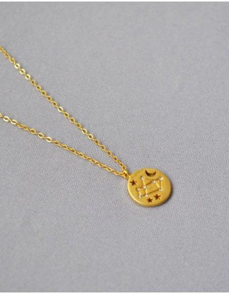 SAGITTARIUS Constellation Coin Necklace