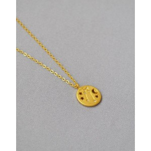 TAURUS Constellation Coin Necklace