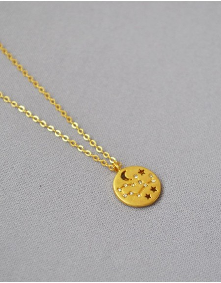 VIRGO Constellation Coin Necklace