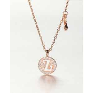 DIAMOND ALPHABET Necklace   Letter Z