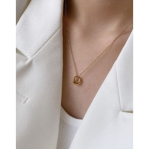 DOME Gold Vermeil Necklace