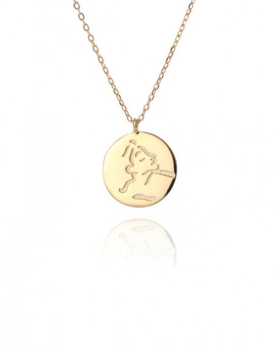 FEMME Gold Vermeil Coin Necklace