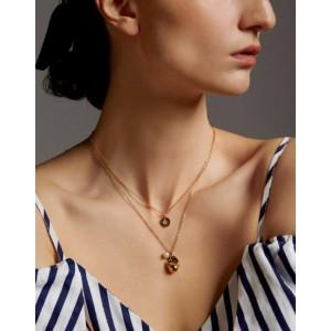 GOLDEN BPD Pendant Necklace