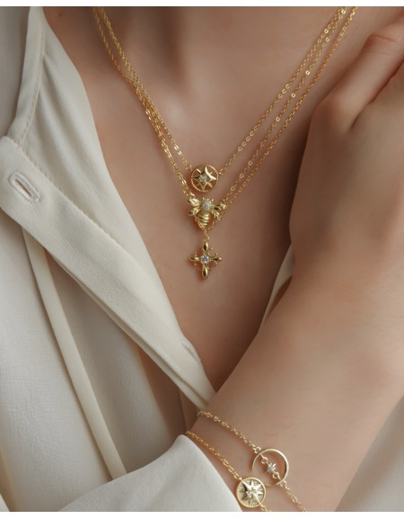 HOPE Gold Vermeil Necklace