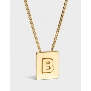 INITIAL Necklace | Letter B