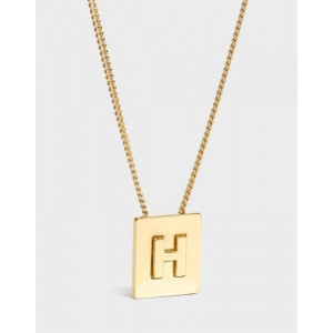 INITIAL Necklace   Letter H