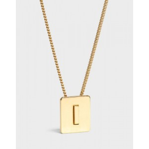 INITIAL Necklace | Letter I