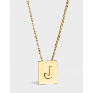 INITIAL Necklace | Letter J
