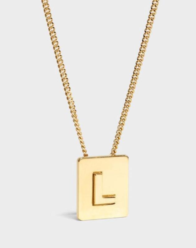 INITIAL Necklace | Letter L