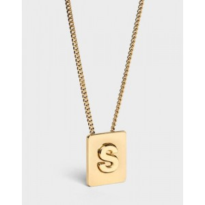 INITIAL Necklace | Letter S