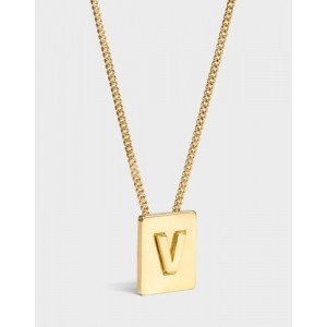 INITIAL Necklace | Letter V
