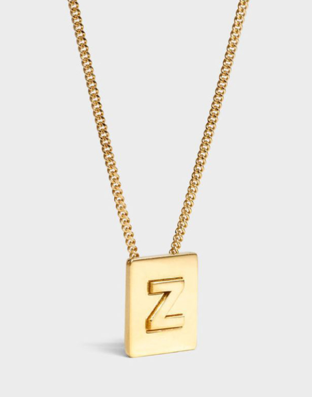 INITIAL Necklace | Letter Z