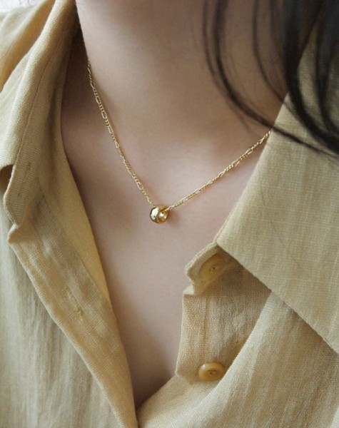 LOOP Gold Vermeil Necklace