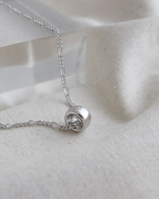 LOOP Sterling Silver Necklace