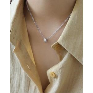 LOOP Sterling Silver Necklace
