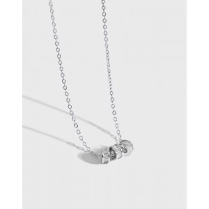 LUCKY Sterling Silver Necklace