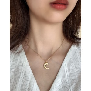 LUNE Gold Vermeil Necklace