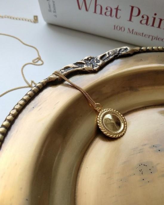 MIRROR Gold Vermeil Necklace