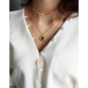 MIRROR Gold Vermeil Necklace