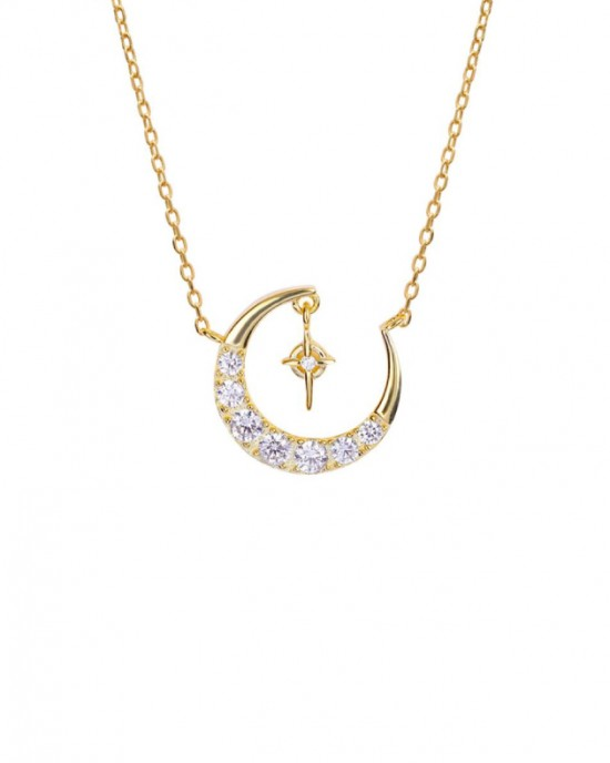 MOONLIGHT Gold Vermeil Necklace